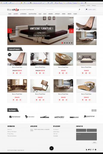 Mẫu web bán hàng maxshop