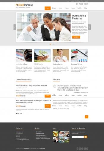 Web giới thiệu công ty MultiPurpose