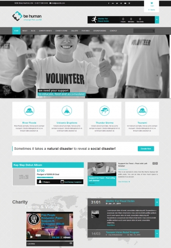 Web giới thiệu công ty Be Human