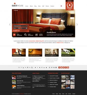 Thiết kế website cho khách sạn Guest House