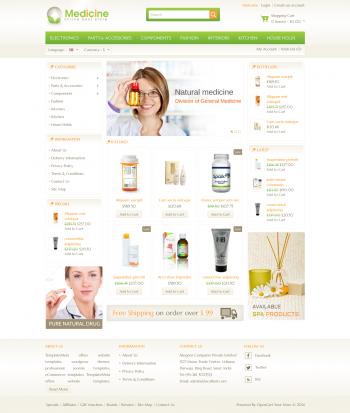 Thiết kế web bán hàng Medicine