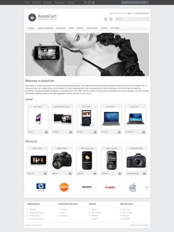Thiết kế web bán hàng giá rẻ Asian