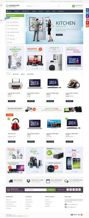 Thiết kế web bán hàng điện tử Super