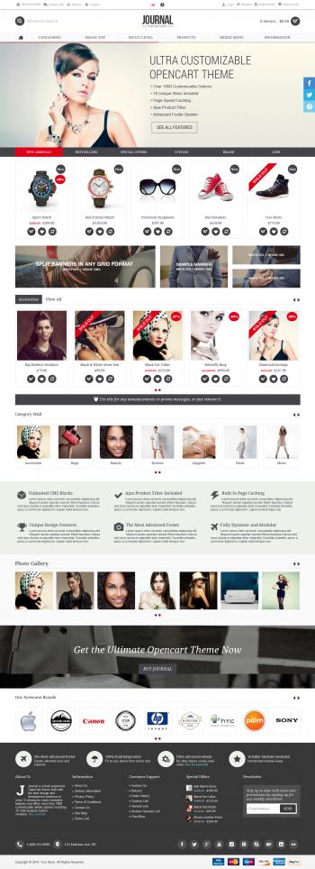 Thiết kế web bán hàng Journal