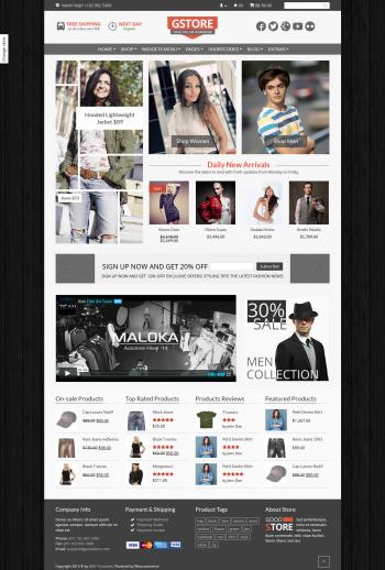 Thiết kế web bán hàng thời trang Good