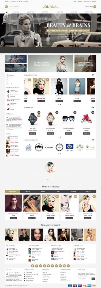 Thiết kế web bán hàng thời trang Jour