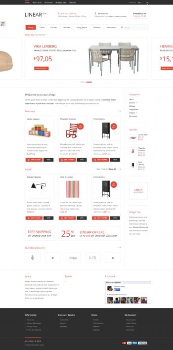 Thiết kế web bán hàng Linear