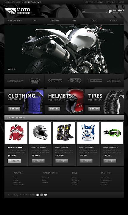 thiết kế web bán xe máy