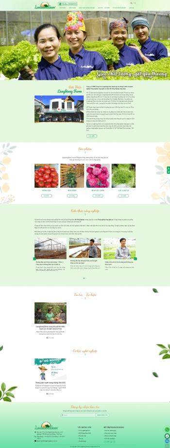 Trang trại Nông Nghiệp chuẩn Công Nghệ Cao – Langbiang Farm