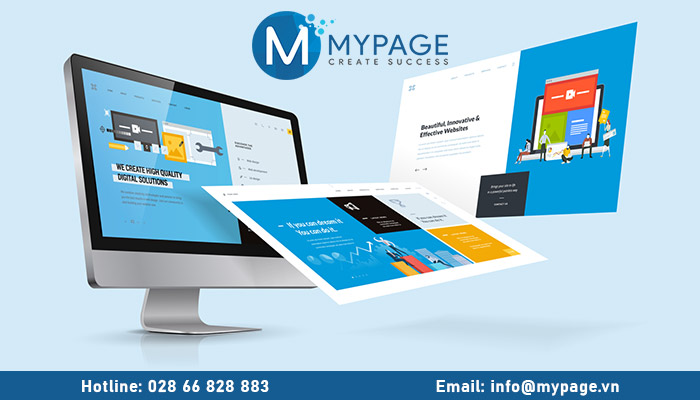 Thiết kế web Mypage