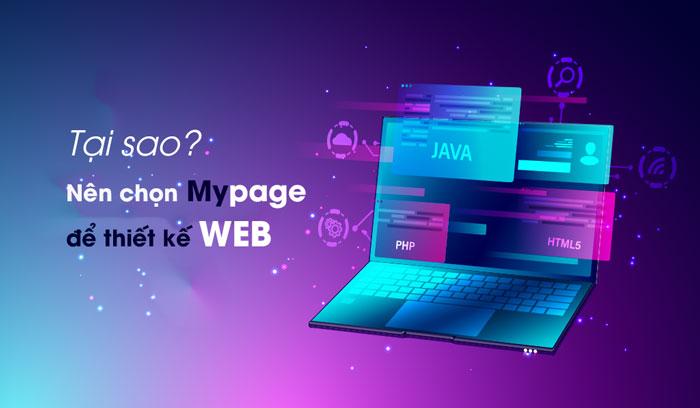 Tại sao nên chọn Mypage để thiết kế Website WordPress