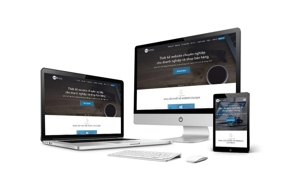 MyPage đơn vị thiết kế Website chuyên nghiệp