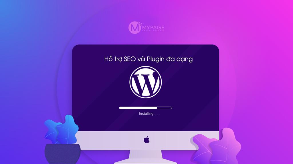 WordPress hỗ trợ SEO và đa dạng Plugin