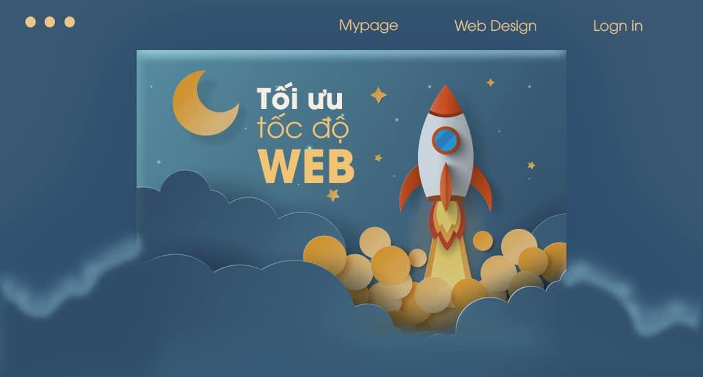 Thiết kế website - Tối ưu tốc độ tải trang