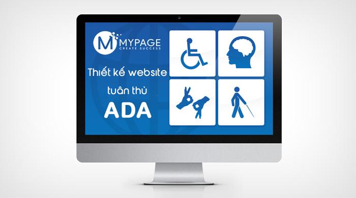 Thiết kế website tuân thủ ADA