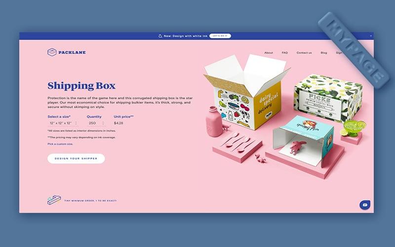 thiết kế nhất quán trên toàn bộ trang web